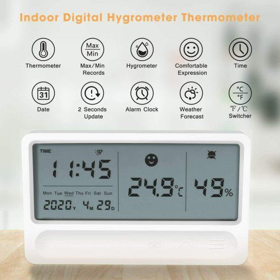 medidor de temperatura e umidade