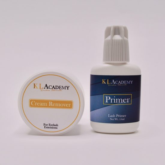 kit primer + cream remover